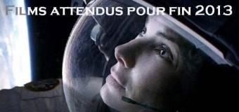 Films attendus pour fin 2013