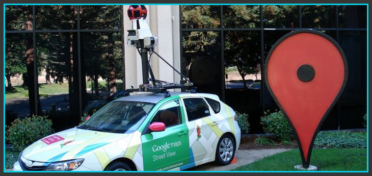 google car - google-street-view