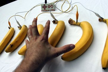 makey makey avec bananes