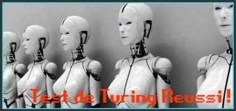 Test de Turing réussi !