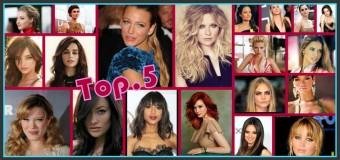 Top 5 des plus belles femmes du moment !